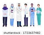 illustration of middle eastern... | Shutterstock .eps vector #1723637482