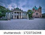 palais de justice  courthouse ...   Shutterstock . vector #1723726348