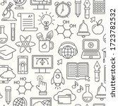 online education seamless...   Shutterstock .eps vector #1723782532