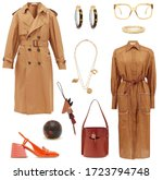 Stylish Clothes. Collage Of...