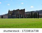 The San Galgano Abbey In...
