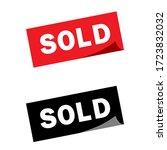 Sold Square Sticker...