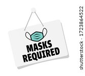 Masks Required On Door Sign