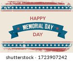 happy memorial day. home of the ... | Shutterstock .eps vector #1723907242