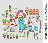 hand drawn vector illustration... | Shutterstock .eps vector #1723931062