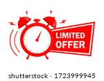 red limited offer. special... | Shutterstock .eps vector #1723999945