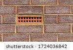 Terracotta Coloured Air Brick...