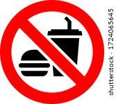 No Food And Drink Forbidden...