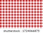 Gingham Pattern Cherry Color....