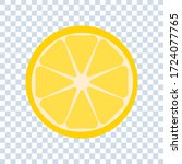 half lemon or orange icon...