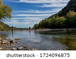 The Potomac River at Harpers Ferry