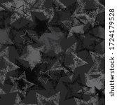 abstract seamless grunge stars... | Shutterstock .eps vector #1724179528