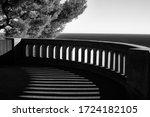 Black White Photo Terrace Or...