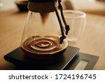 Drip Coffee. Coffee Drops...