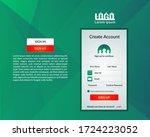 login design. sign up page....