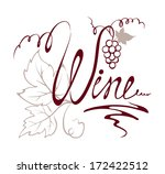 design element   title wine | Shutterstock .eps vector #172422512