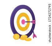 illustration of darts  arrows ...