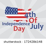 happy fourth of july.... | Shutterstock .eps vector #1724286148