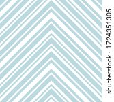 sky blue chevron diagonal...   Shutterstock .eps vector #1724351305