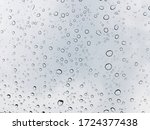 Image Of Water Droplets On A...