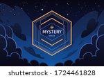 vintage geometric banner on...   Shutterstock .eps vector #1724461828