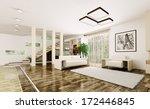 interior of modern living room... | Shutterstock . vector #172446845