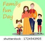 international family day ...   Shutterstock .eps vector #1724543905