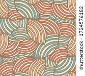 seamless abstract pattern with... | Shutterstock .eps vector #1724576182