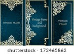 collection of cards with... | Shutterstock .eps vector #172465862