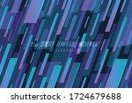 abstract gradient stripe line... | Shutterstock .eps vector #1724679688