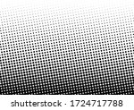 distressed dots background.... | Shutterstock .eps vector #1724717788