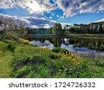 The River Ribble In Preston ...