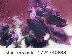 Dried Purple Tulips. Beautiful...