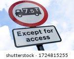 Uk Road Sign Explaining That...