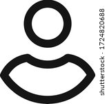 avatar man people vector flat...   Shutterstock .eps vector #1724820688