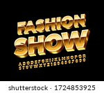 vector premium sign fashion... | Shutterstock .eps vector #1724853925