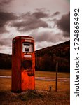 Old Style Gasoline Pump With...
