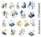 remote secure management... | Shutterstock .eps vector #1724896645