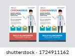 doctor explain info graphics ... | Shutterstock .eps vector #1724911162