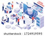 creating and developing your... | Shutterstock .eps vector #1724919595
