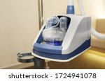 close up on oxygen concentrator ... | Shutterstock . vector #1724941078
