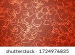 light orange vector cover with... | Shutterstock .eps vector #1724976835