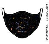 horoscope sagittarius elements... | Shutterstock .eps vector #1725026095