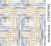 seamless french blue woven... | Shutterstock .eps vector #1725057982