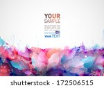blue abstract background... | Shutterstock .eps vector #172506515