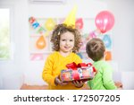 children having fun at a... | Shutterstock . vector #172507205