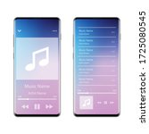 music player interface...