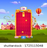 mobile game app background ... | Shutterstock .eps vector #1725115048