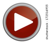 play button red | Shutterstock .eps vector #172516955