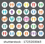 set of people icons ...   Shutterstock .eps vector #1725203065
